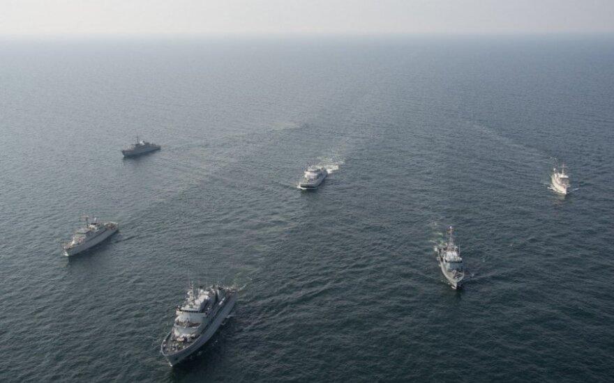Klaipėdos jūrų uoste – NATO laivų junginys