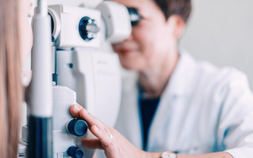 Akių ligų gydytoja
