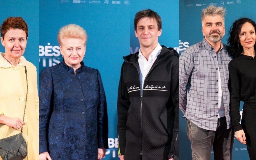 Nemira Pumprickaitė, Dalia Grybauskaitė, Donatas Ulvydas, Marijus ir Livija Gradauskienė