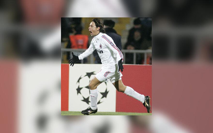"""Filippo Inzaghi (""""AC Milan"""")"""