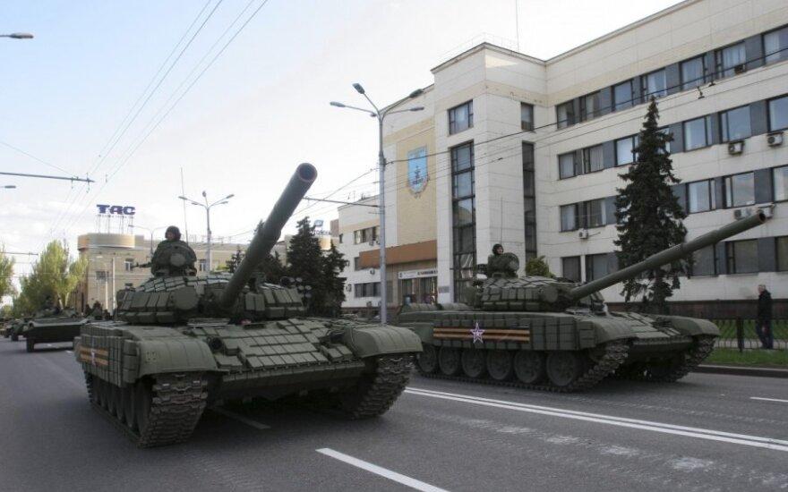 Luhansko separatistai pasirengę perduoti Kijevui apie 50 asmenų, nuteistų iki konflikto