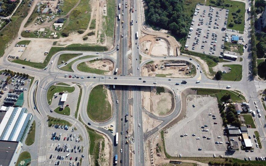 A1 magistralės rekonstrukcija ties Kaunu: keičiama eismo tvarka, vairuotojų prašo atidumo