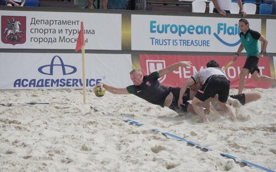 Lietuvos paplūdimio regbininkai Maskvoje liko ketvirti