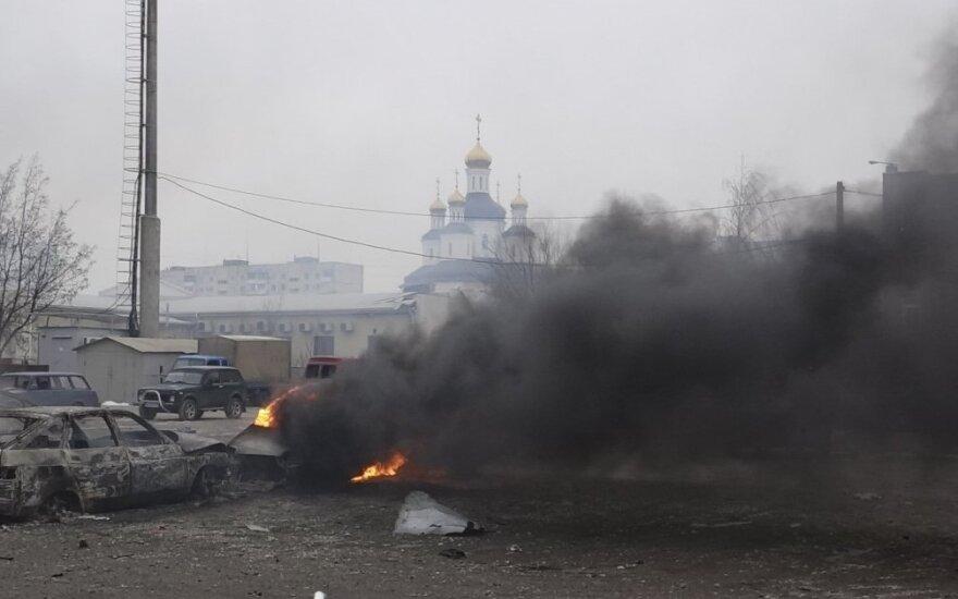 Rytų Ukrainoje – nauji mūšiai