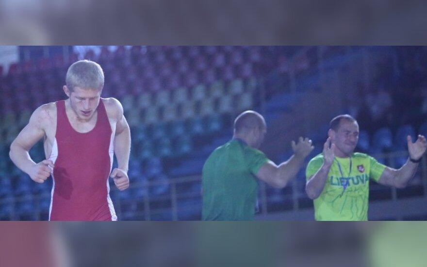 Edgaras Venckaitis ir jo treneriai