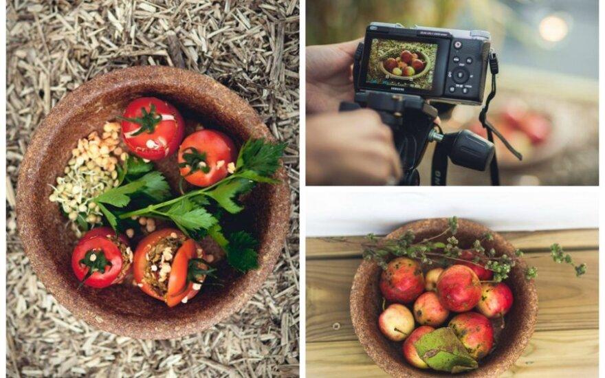 Patarimai, kaip fotografuoti maistą, kad jis būtų skanus ir akims