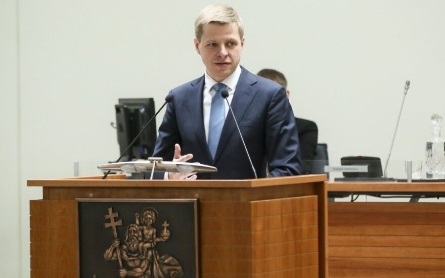New Vilnius mayor and city council sworn in