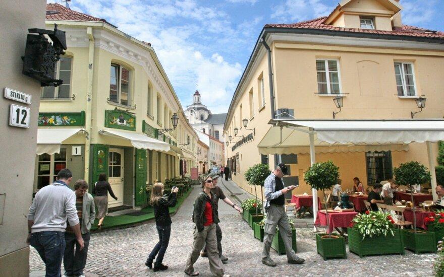 Turistų skaičius Vilniuje auga – viešbučiai skaičiuoja beveik milijoną nakvynių