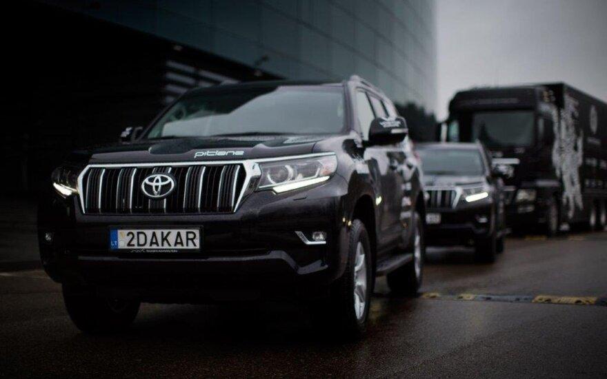 "B. Vanago Dakaro flotilę papildė naujieji ""Toyota Land Cruiser"""