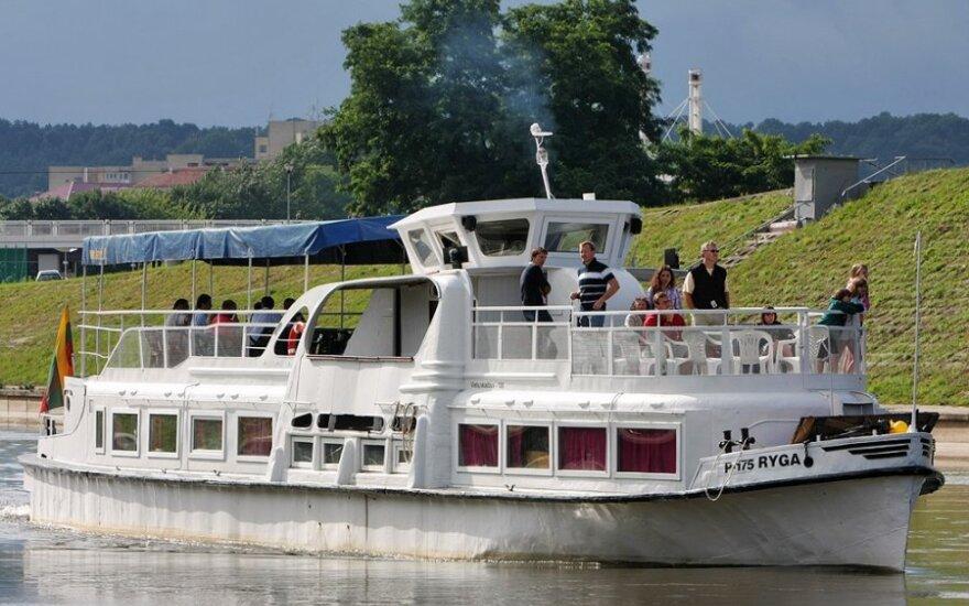Upių seklumos – spąstai pramoginiams laivams