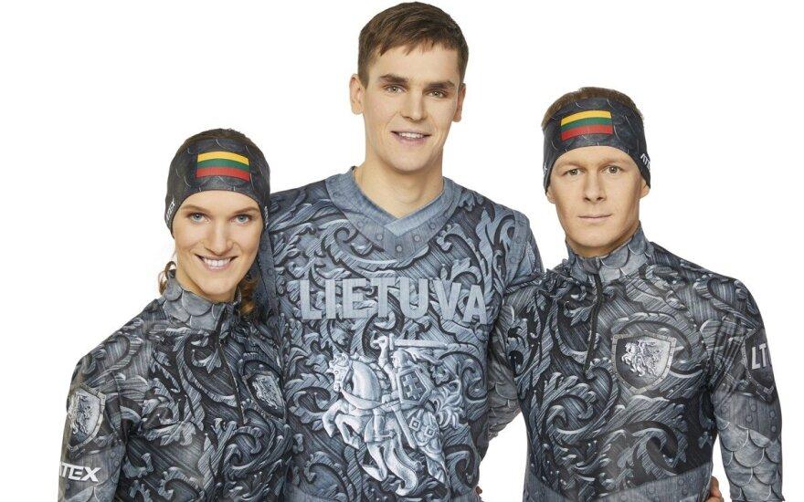 Neįprasta biatlonininkų apranga: olimpiadoje lietuviai atrodys tarsi riteriai