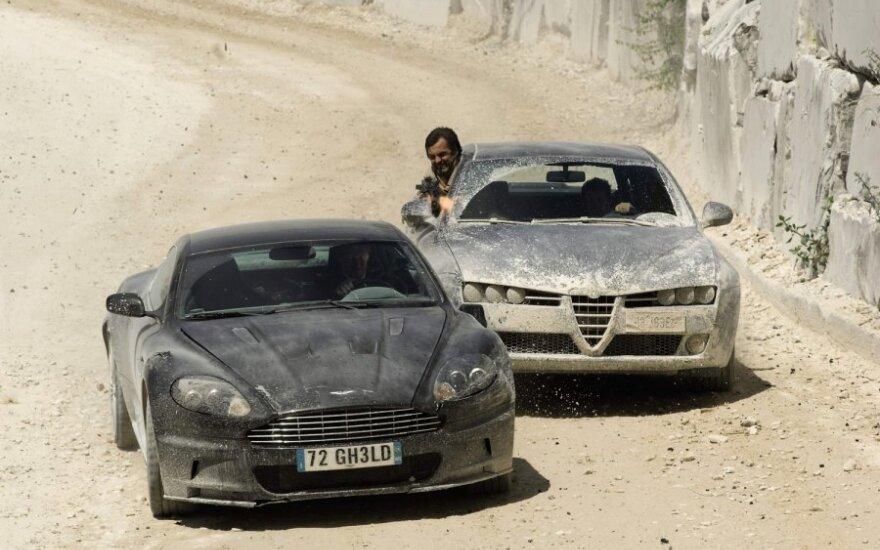 """Filme """"Paguodos kvantas"""" naudotas Aston Martin DBS"""