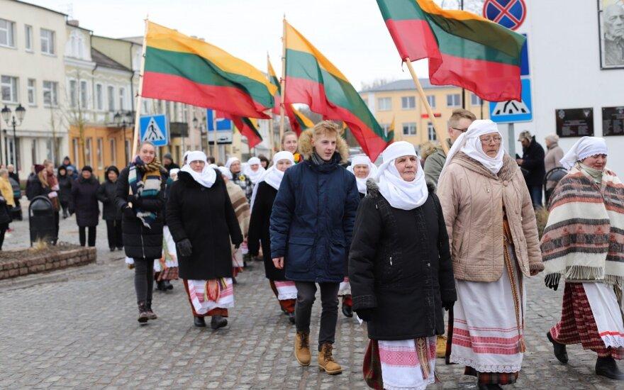 """Žygio per Lietuva """"Vardan tos"""" atidarymas Pasvalyje"""