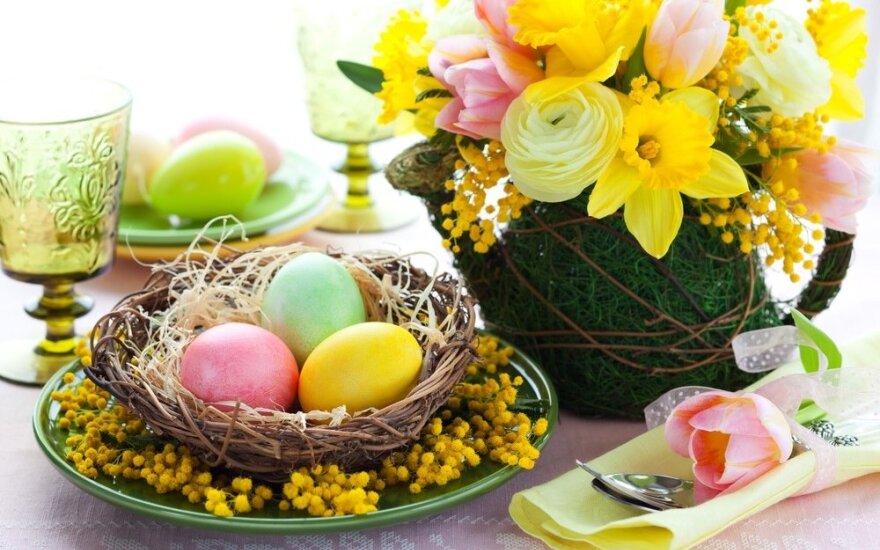 Patarimai, kaip papuošti namus pavasario šventėms
