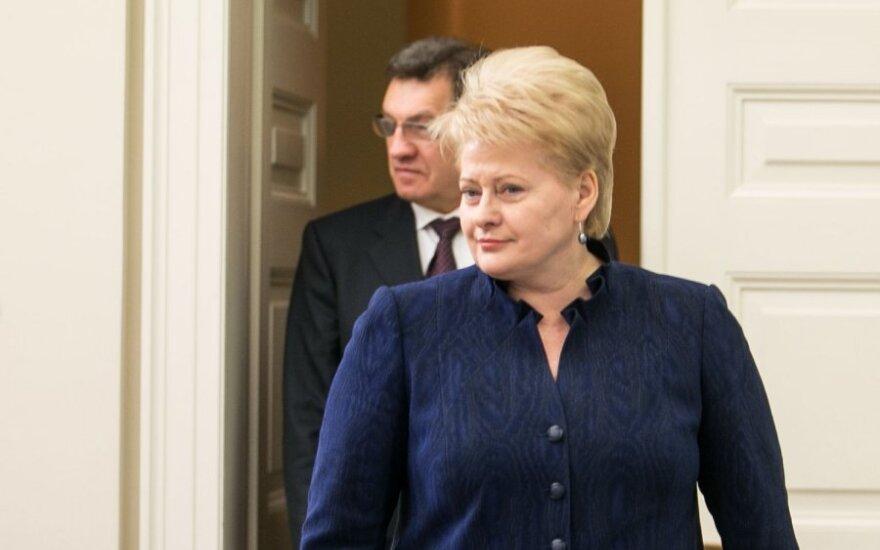 D.Grybauskaitė: Darbo partija negali dalyvauti Vyriausybės formavime