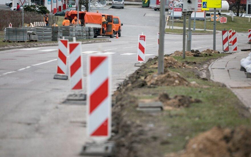 Olandų gatvės remontas