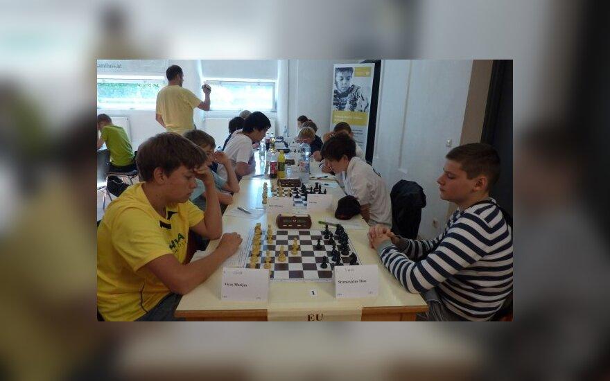 Titas Stremavičius (dešinėje)