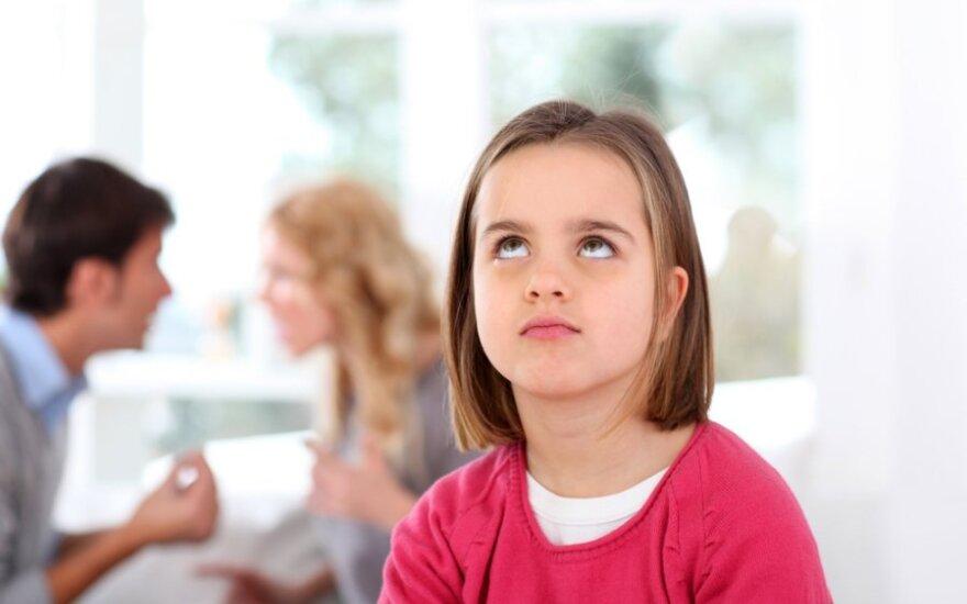 Tėvų skyrybos. Kaip palengvinti vaiko prisitaikymą?