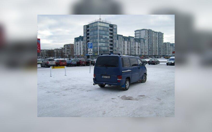 """Vilniuje, prie Šiaurės miestelio """"Rimi"""". 2009-12-30, 11.07 val."""