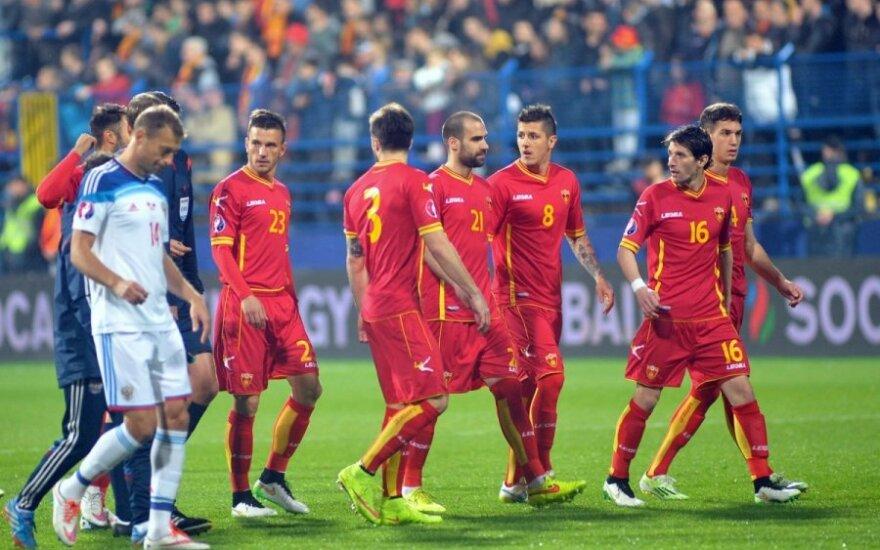Juodkalniečiai ir rusai palieka aikštę