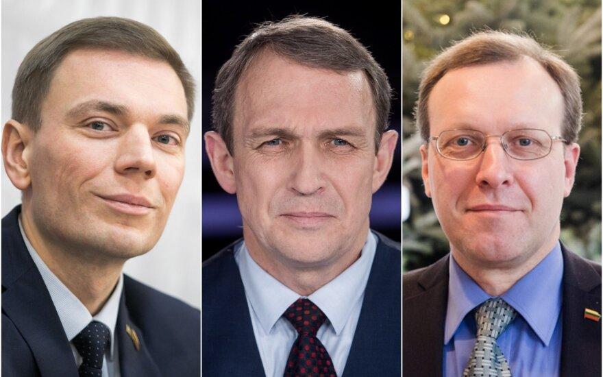 Mindaugas Puidokas, Arvydas Juozaitis ir Naglis Puteikis