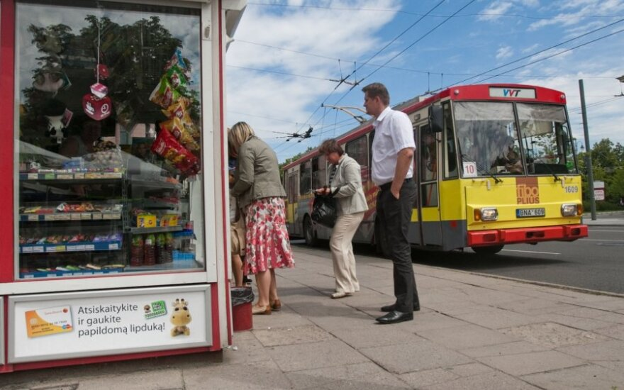 Vilniuje išplatinta daugiau kaip 92 tūkst. Vilniečio kortelių
