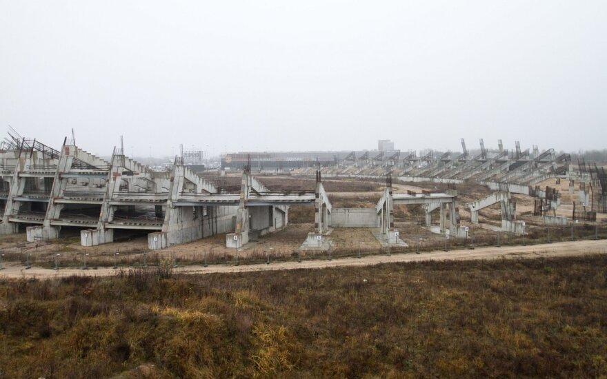 Vyriausybė sutinka dalyvauti nacionalinio stadiono projekte