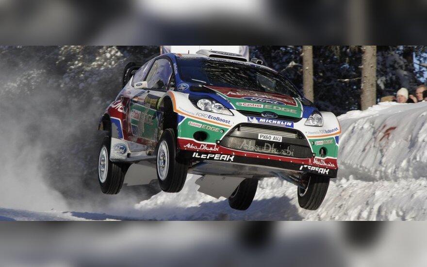 Mikko Hirvonenas (Ford Fiesta RS WRC)
