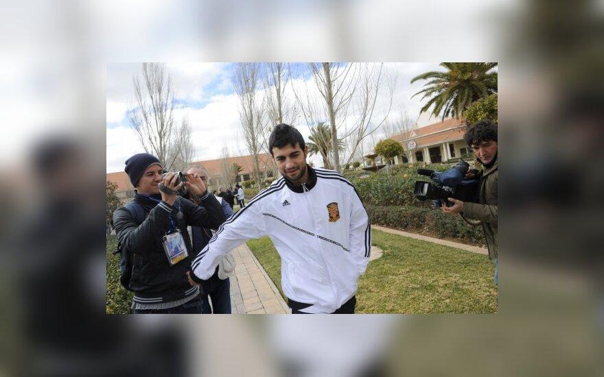"""Naujasis Madrido """"Real"""" pirkinys - """"Valencia"""" klubo gynėjas"""