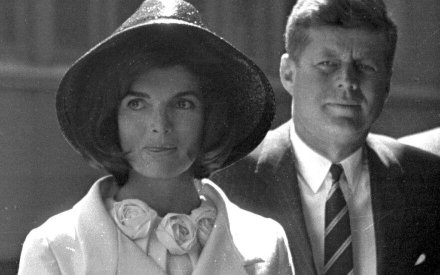 Johnas ir Jackie Kennedy