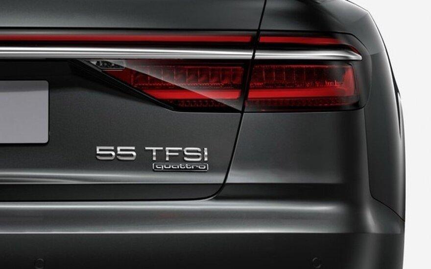 """Nauja """"Audi"""" automobilių galios nomenklatūra"""