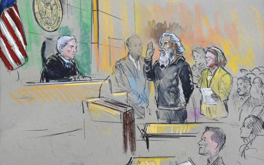 Ahmedo Abu Khatallaho teismo eskizas