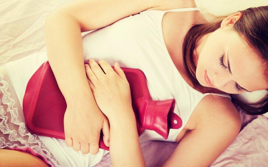 Ką apie moters sveikatą praneša mėnesinių kraujo spalva