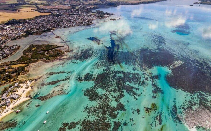 Mauricijų ištiko ekologinė katastrofa
