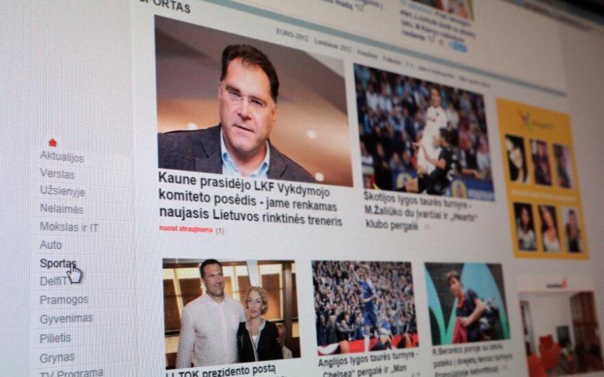 DELFI sporto naujienos sulaukė didžiausio skaitytojų dėmesio