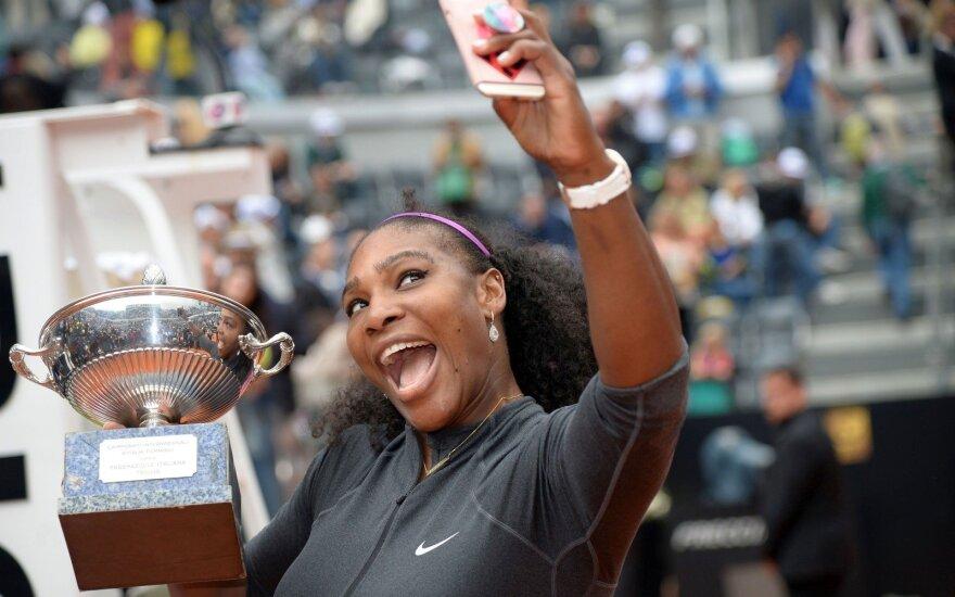 Turnyre Romoje – S. Williams triumfas