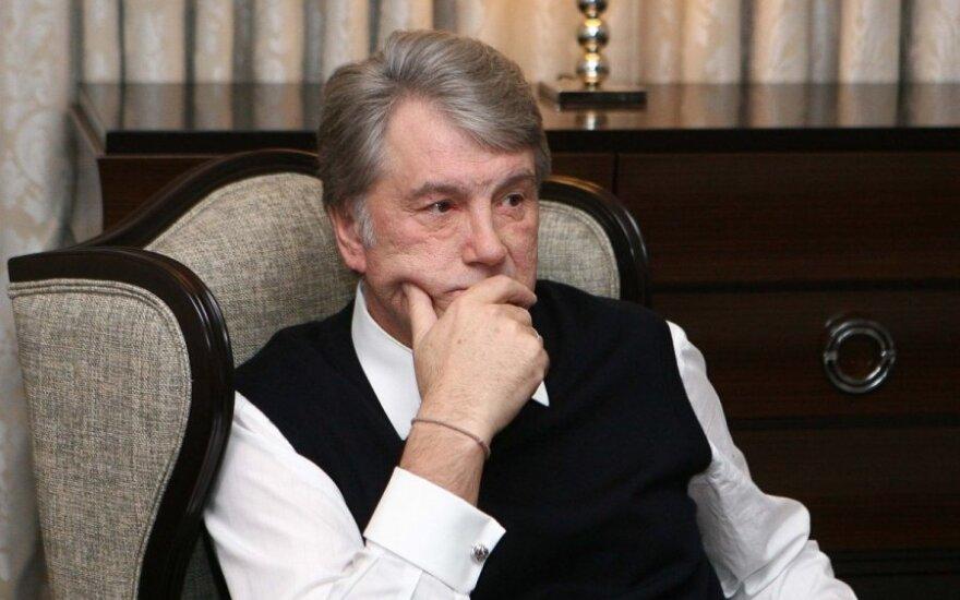 V.Juščenka: Europos sąlygos Ukrainai yra neadekvačios
