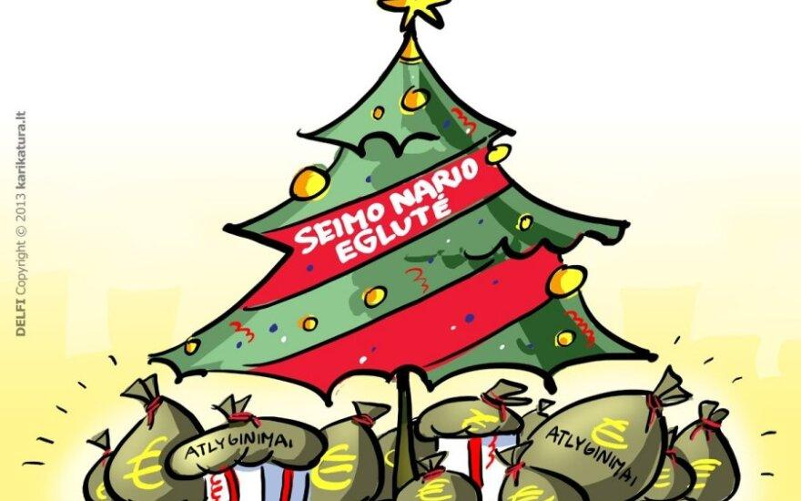 Kalėdos Seime