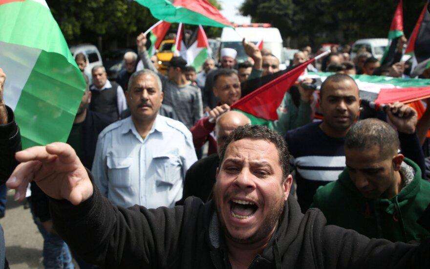 Protestai Gazoje