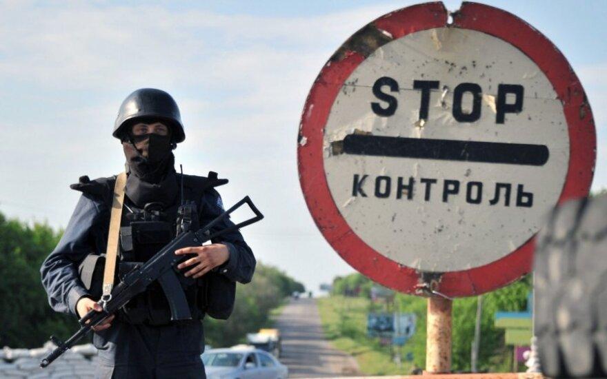 Šeimos akivaizdoje teroristai nušovė Ukrainos gyventoją