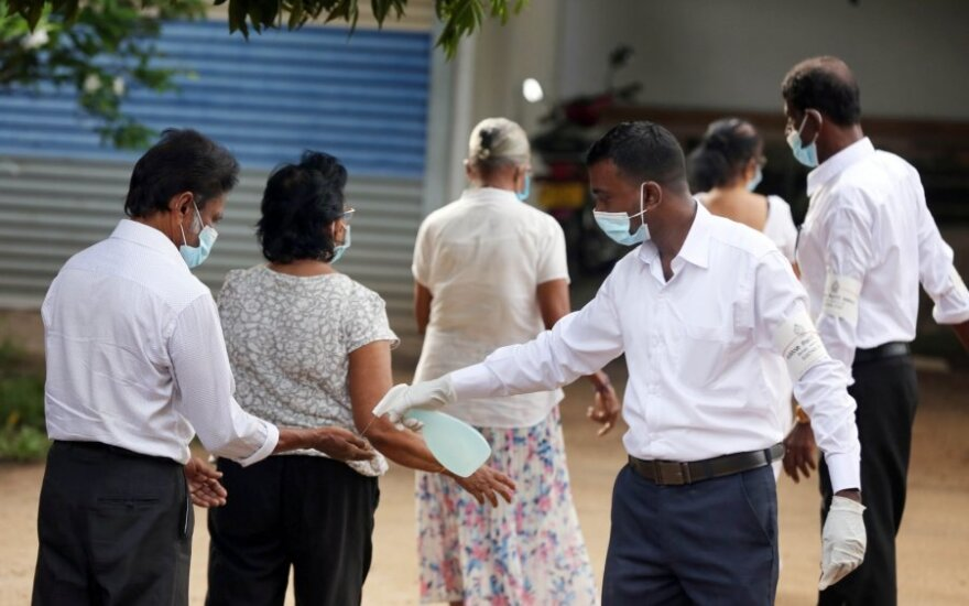 Rinkimai Šri Lankoje
