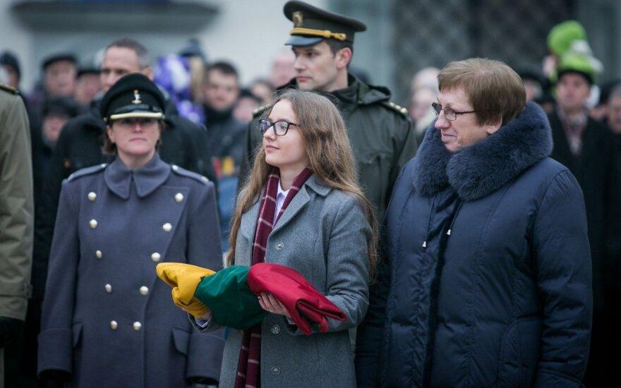 Paminėta Lietuvos vėliavos diena