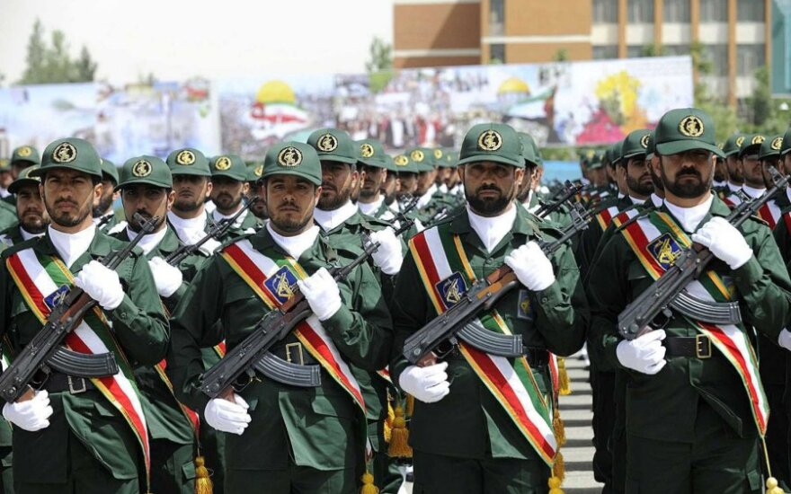 Irano islamo revoliucijos gvardijos pajėgų kariai