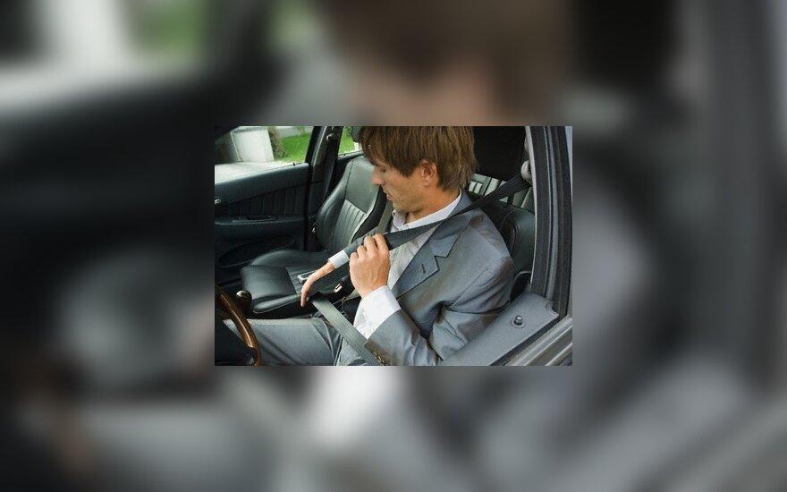 Europos šalių kelių policijos vadovai ragina vairuoti atsakingai