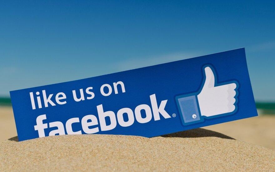 """""""Facebook"""" saugos savo vartotojus nuo """"žemos kokybės"""" tinklalapių"""