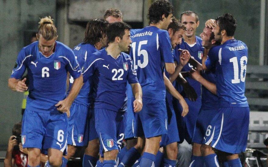Italijos rinktinės futbolininkai
