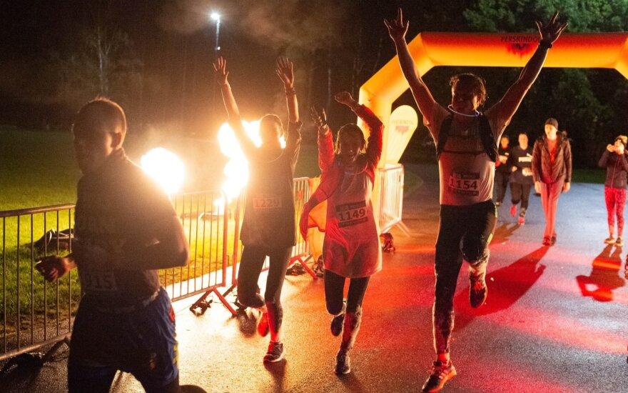 """Insane Run"" bėgimo akimirkos"