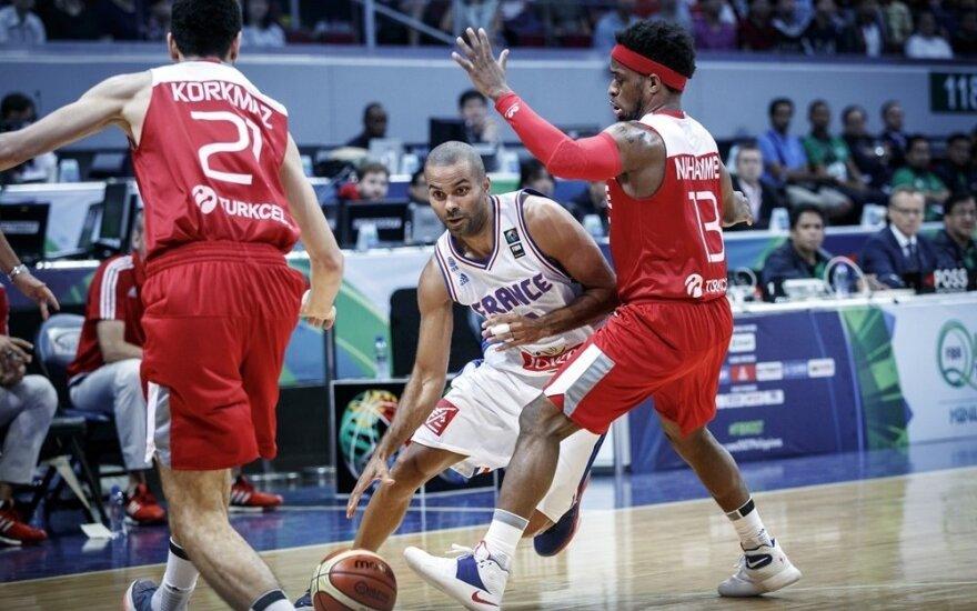 Dėl olimpinio kelialapio susigrums NBA žaidėjų vedama Kanada ir Prancūzija