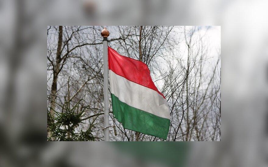 Vengrijos konservatoriai užsitikrino lemiamą daugumą parlamente