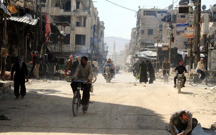Sirija atšaukė pranešimą apie raketų ataką